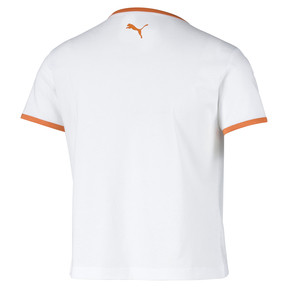 Thumbnail 5 of Performance Retro Damen T-Shirt, Puma White, medium