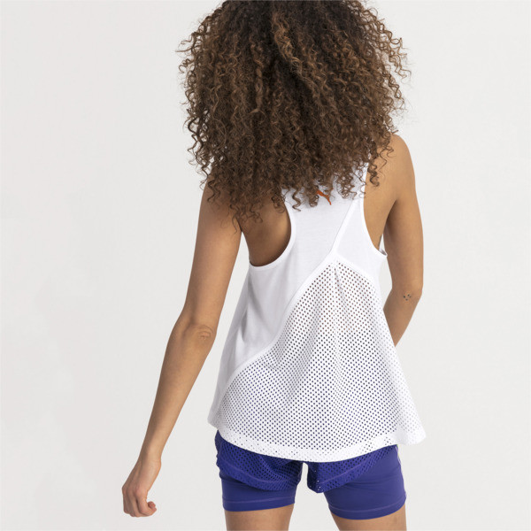Performance Damen Tank-Top, Puma White, large