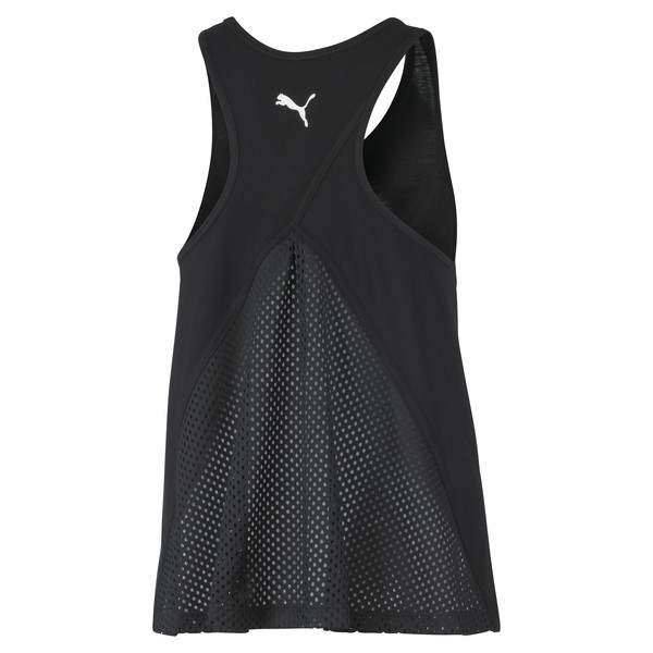Performance Women's Tank Top, Puma Black, large