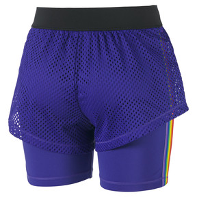 Thumbnail 6 of Performance 2 in 1 Women's Shorts, Deep Wisteria, medium