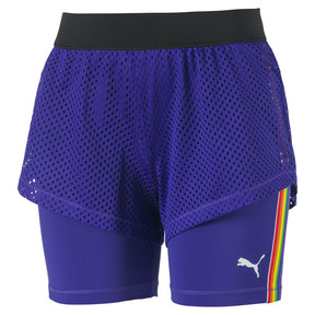 Performance 2 in 1 Damen Shorts