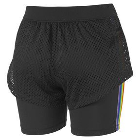 Thumbnail 6 of Performance 2 in 1 Women's Shorts, Puma Black, medium
