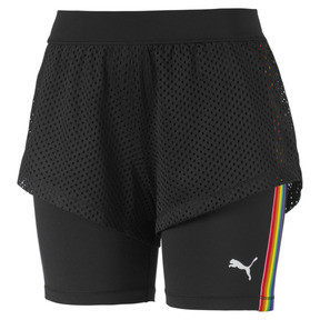 Thumbnail 5 of Performance 2 in 1 Women's Shorts, Puma Black, medium