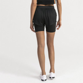 Thumbnail 2 of Performance 2 in 1 Women's Shorts, Puma Black, medium