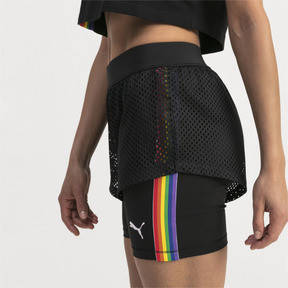 Thumbnail 4 of Performance 2 in 1 Women's Shorts, Puma Black, medium
