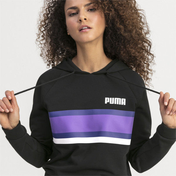 Performance Women's Hoodie, Puma Black, large
