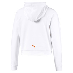 Thumbnail 6 of Performance Damen Hoodie, Puma White, medium