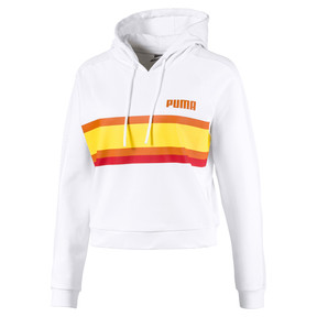 Thumbnail 5 of Performance Damen Hoodie, Puma White, medium