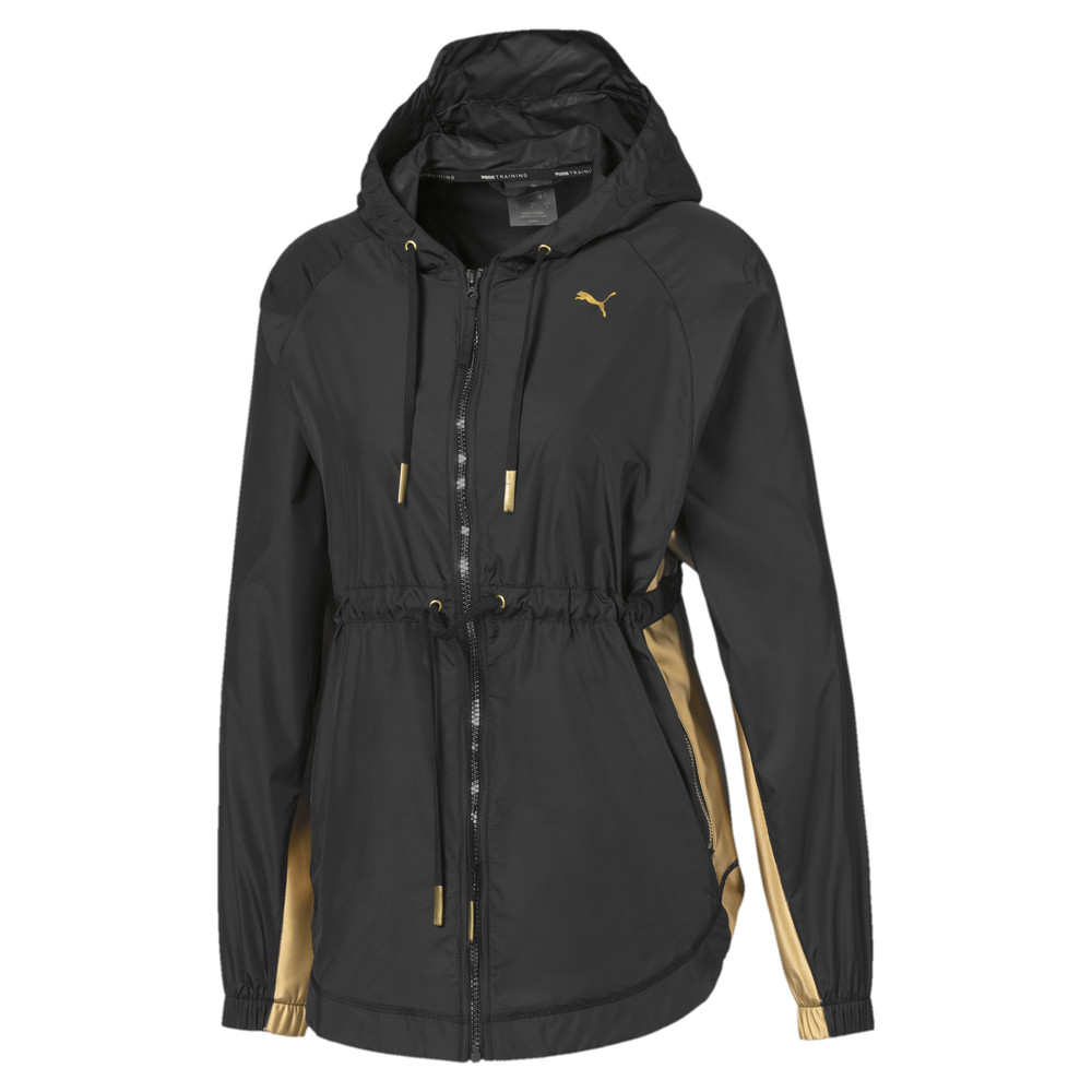 Image Puma Metal Splash Hooded Women's Training Anorak #1