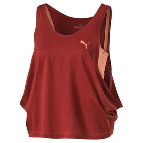 Camiseta de tirantes a capas de mujer