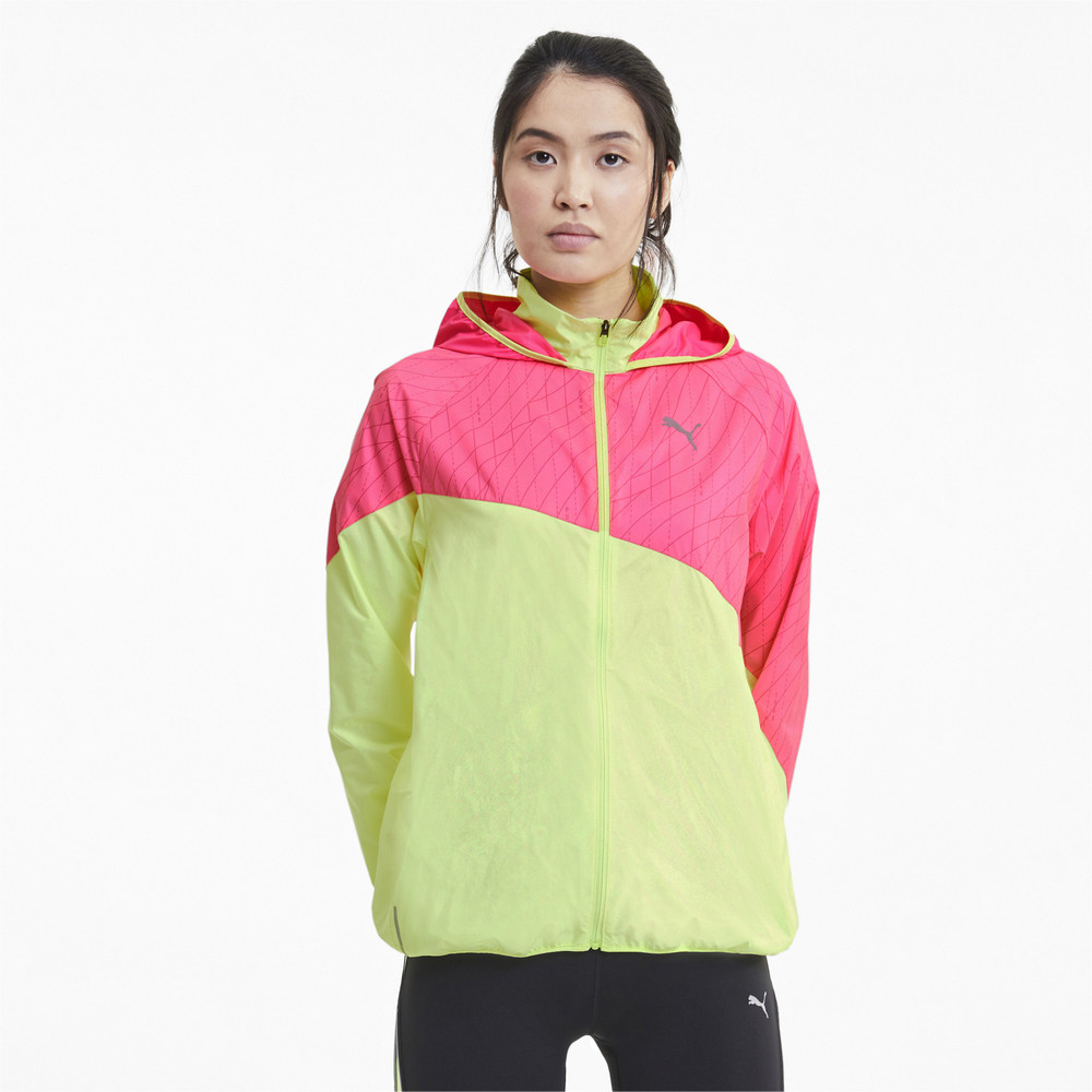 Image Puma Graphic Hooded Women's Running Jacket #1