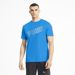 Image Puma Logo Short Sleeve Men's Running Tee