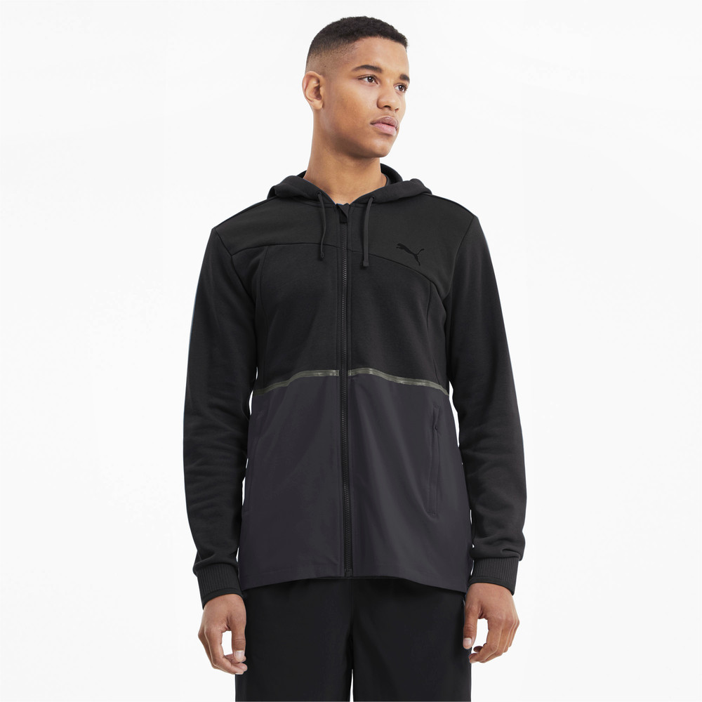 Image PUMA Excite Knitted Full Zip Men's Training Jacket #1
