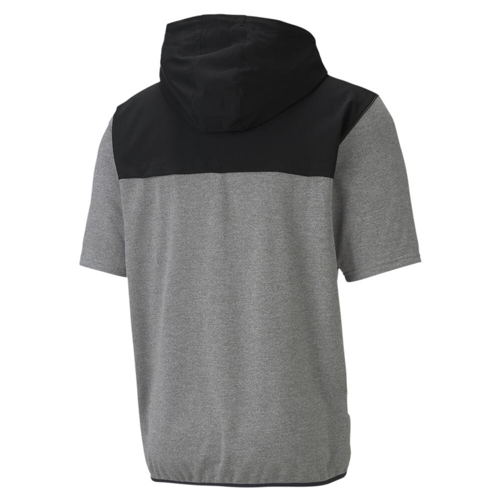 Image PUMA Short Sleeve Men's Lightweight Training Hoodie #2