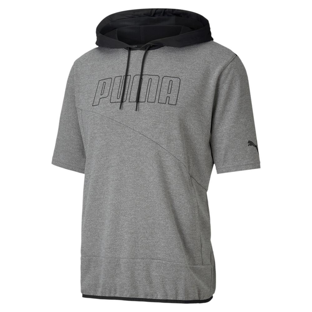 Image PUMA Short Sleeve Men's Lightweight Training Hoodie #1
