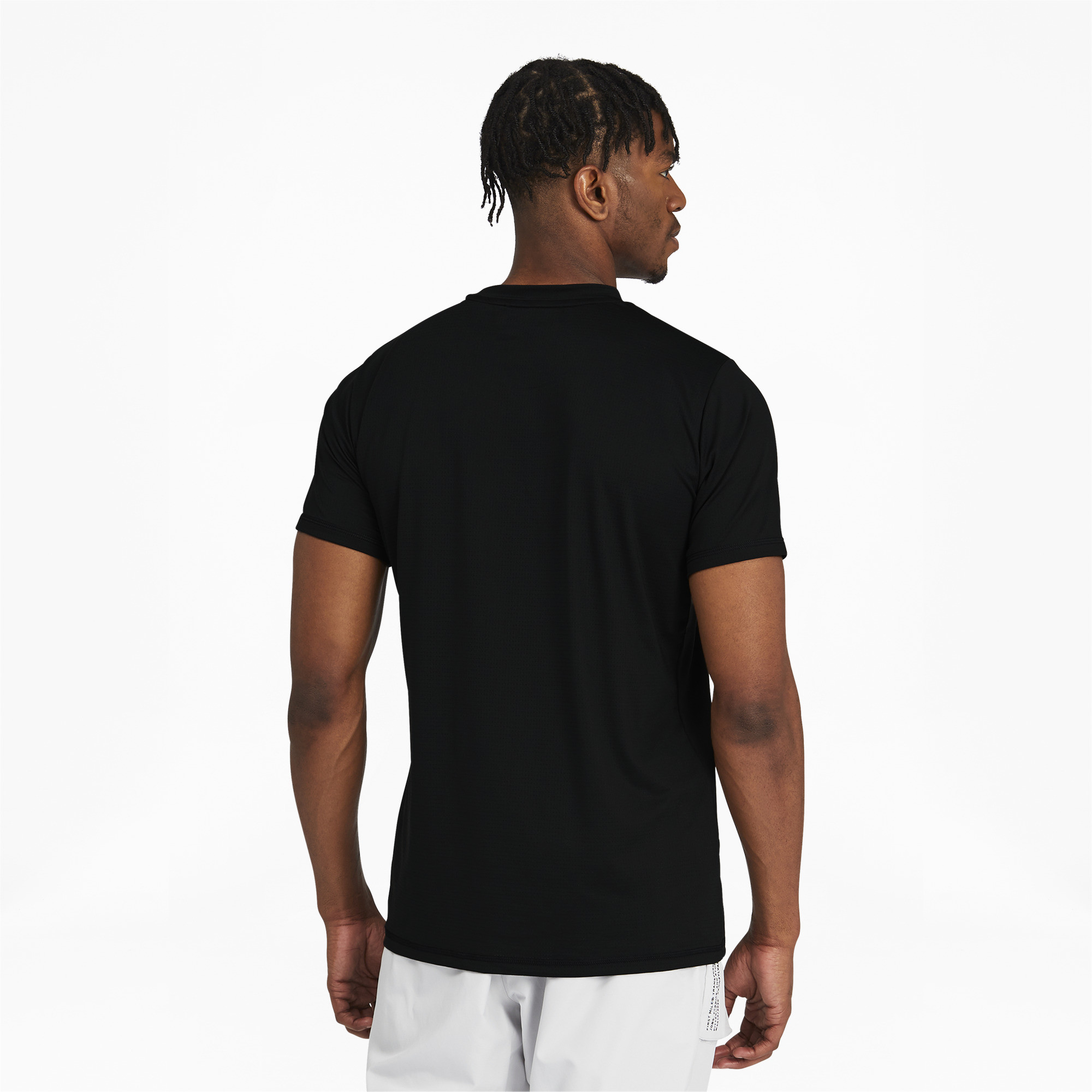 Aaron Tan - Uniqlo Black Soft Touch Top, Ministry Of