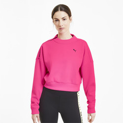 Brave Zip Crew Neck Women's Training Sweater