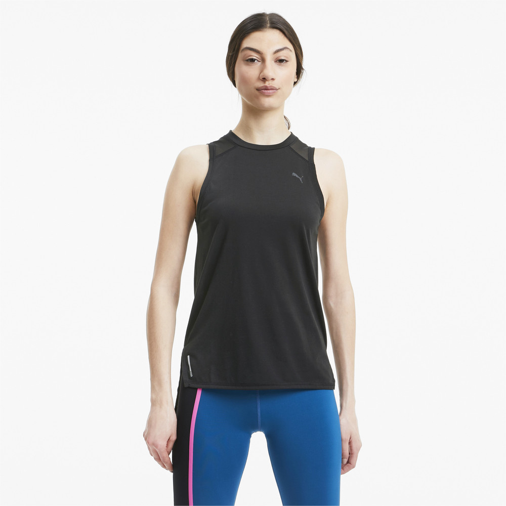 Image PUMA Mesh Panel Women's Training Tank Top #1