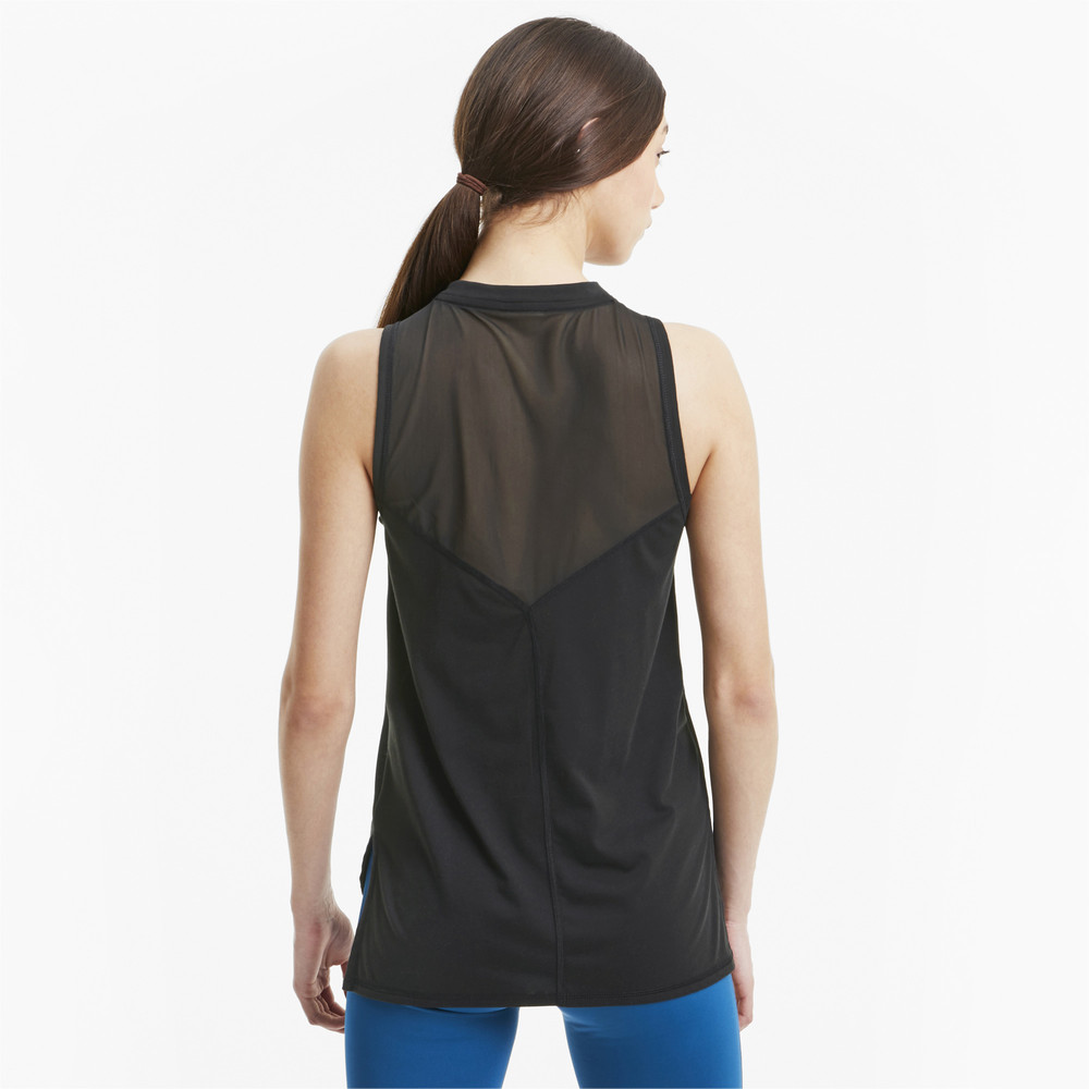Image PUMA Mesh Panel Women's Training Tank Top #2