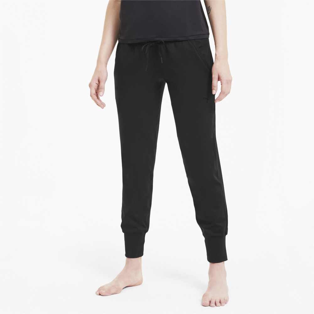 Image PUMA Studio Yogini Luxe Knitted Women's Training Pants #1
