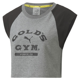 Image Puma PUMA x GOLD'S GYM dryCELL Cropped Women's Training Tee