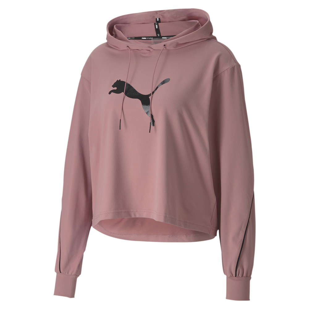 Image PUMA Pearl Long Sleeve Women's Training Hoodie #1
