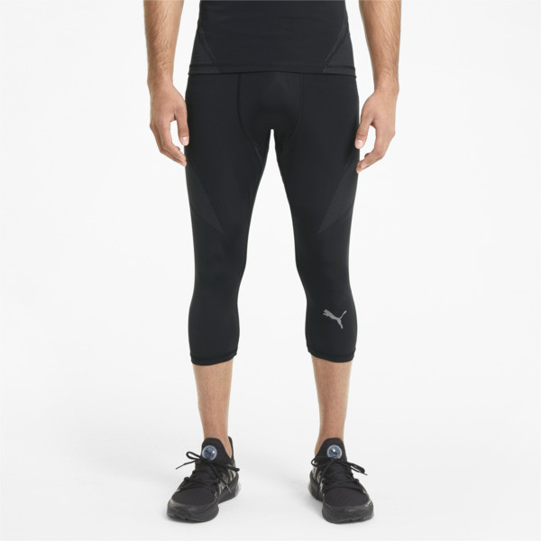 Puma Exo-Adapt Men's 3/4 Training Tights In Black, Size S