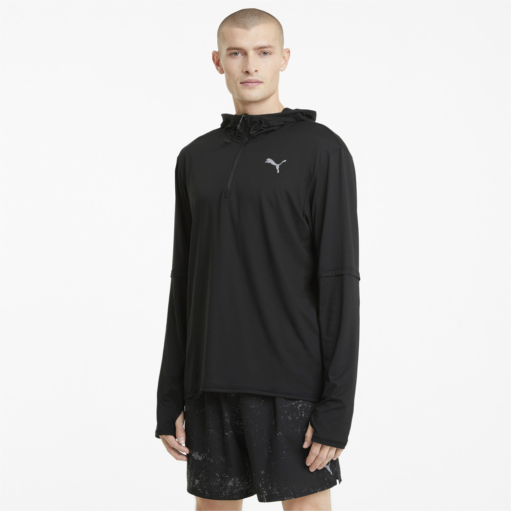 Image PUMA Hooded Men's Running Mid-Layer #1
