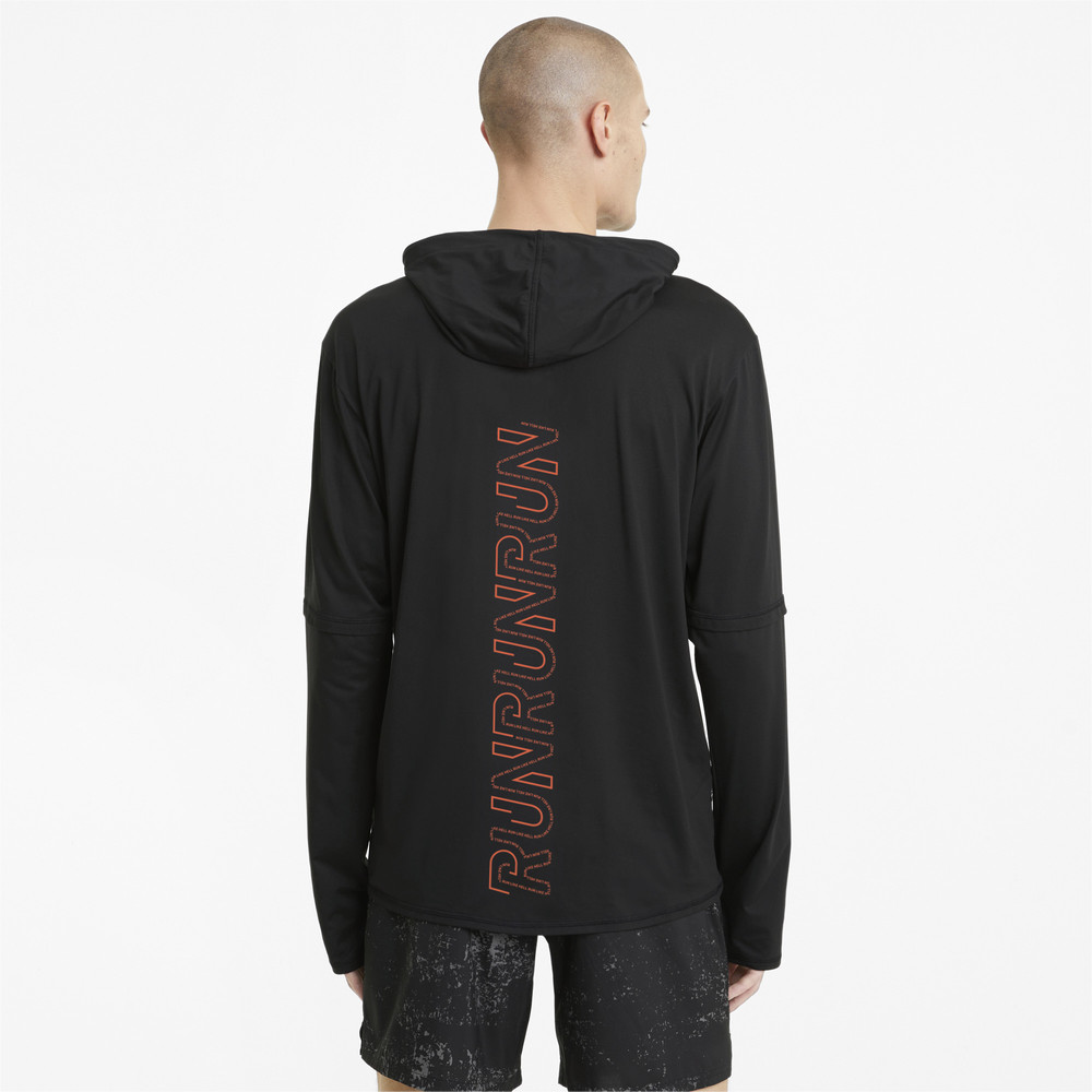 Image PUMA Hooded Men's Running Mid-Layer #2