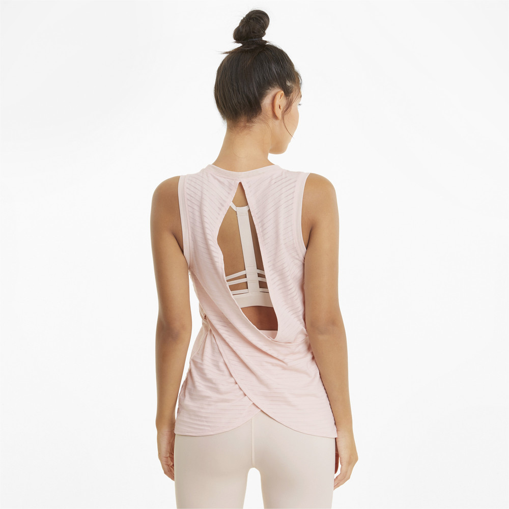Image PUMA Studio Burnout Women's Training Tank Top #2