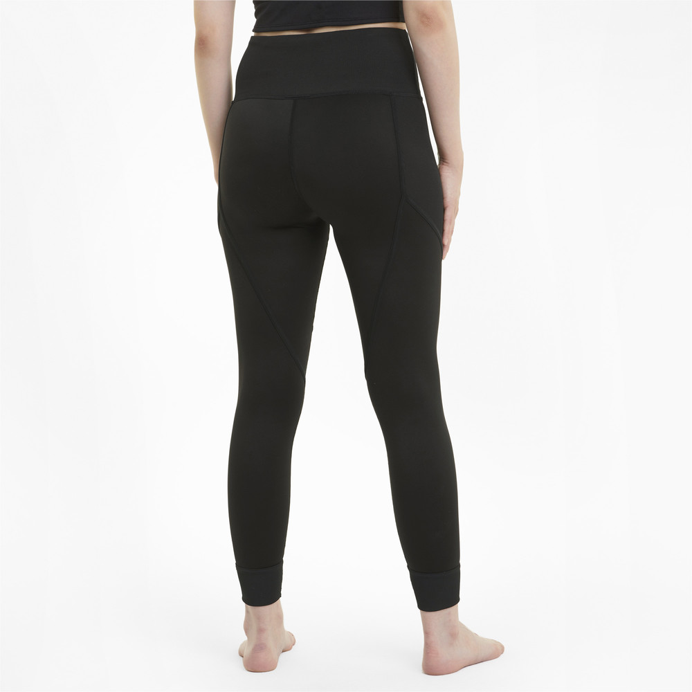 Image PUMA Studio Ribbed High Waist 7/8 Women's Training Leggings #2