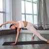 Image PUMA Studio Side Ribbed High Waist 7/8 Women's Training Leggings #7