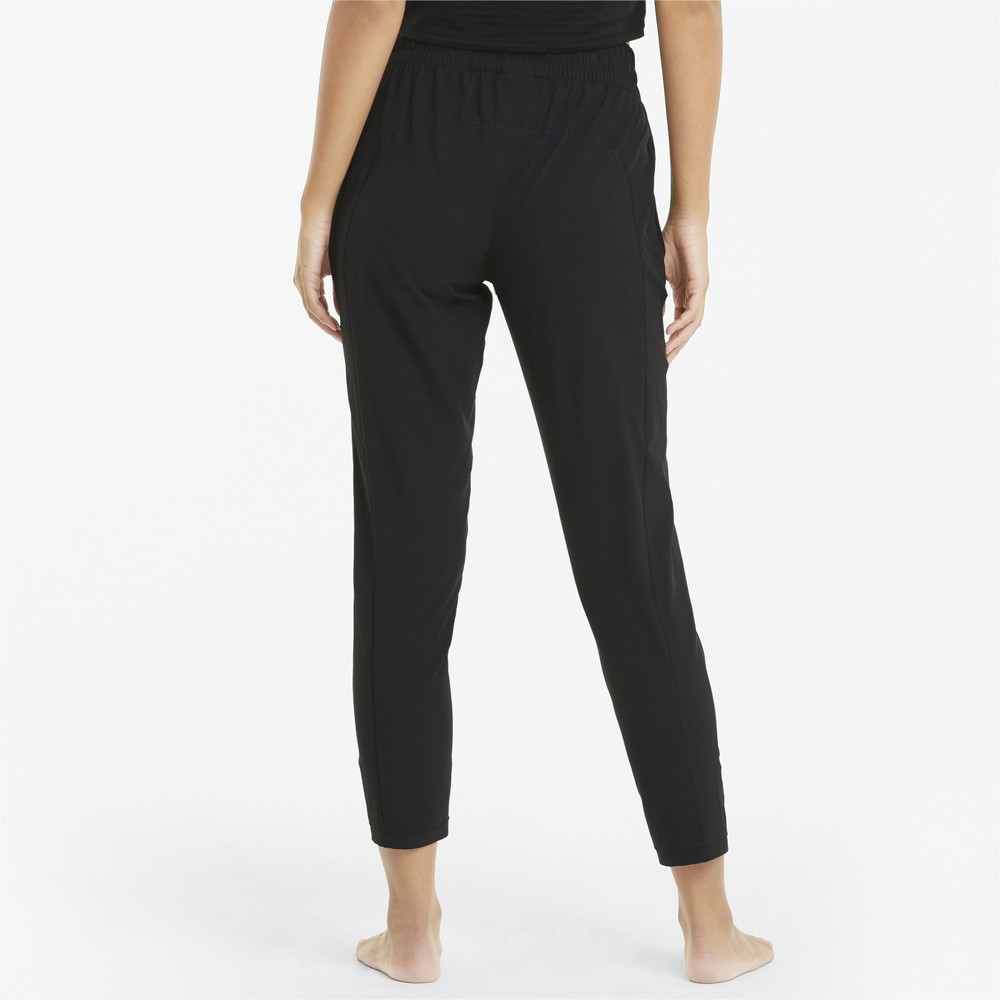 Image PUMA Studio Woven Tapered Women's Training Pants #2