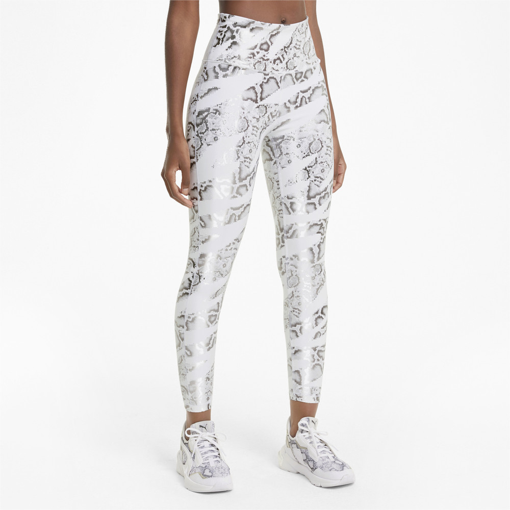 Image PUMA UNTMD Printed 7/8 Women's Training Leggings #1