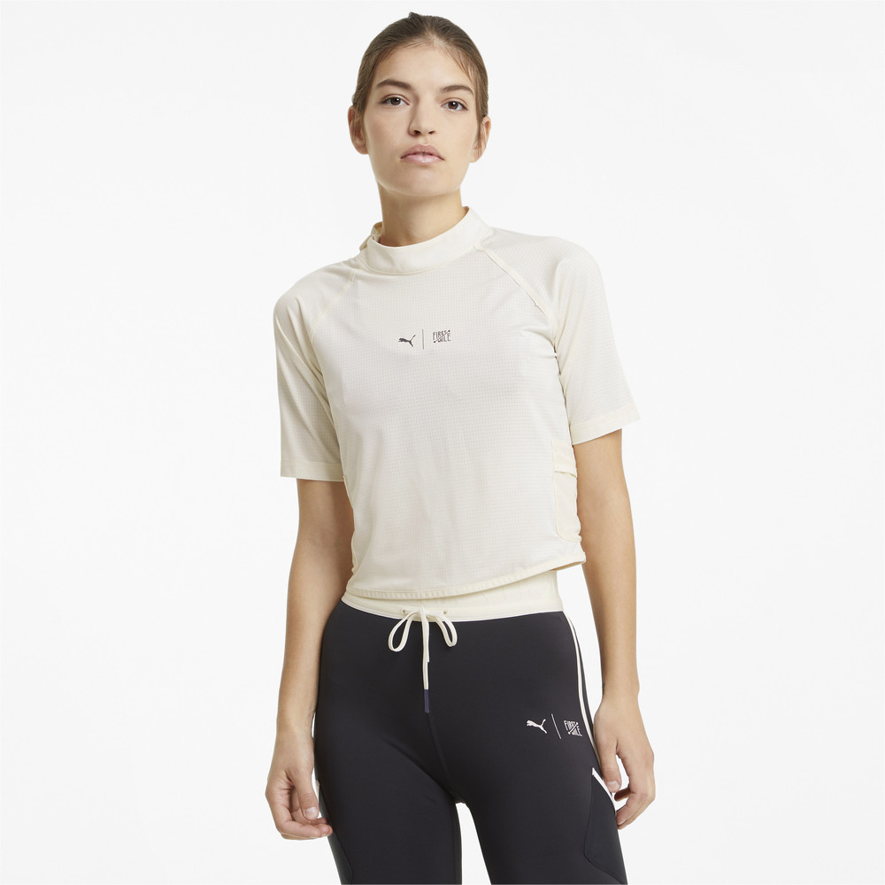 Image PUMA PUMA x FIRST MILE Mock Women's Training Tee #1
