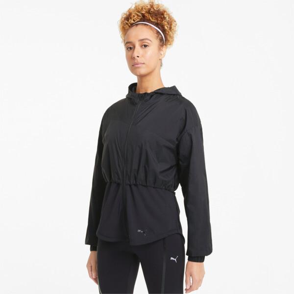 Puma Ultra Women's Hooded Training Jacket In Black, Size Xs
