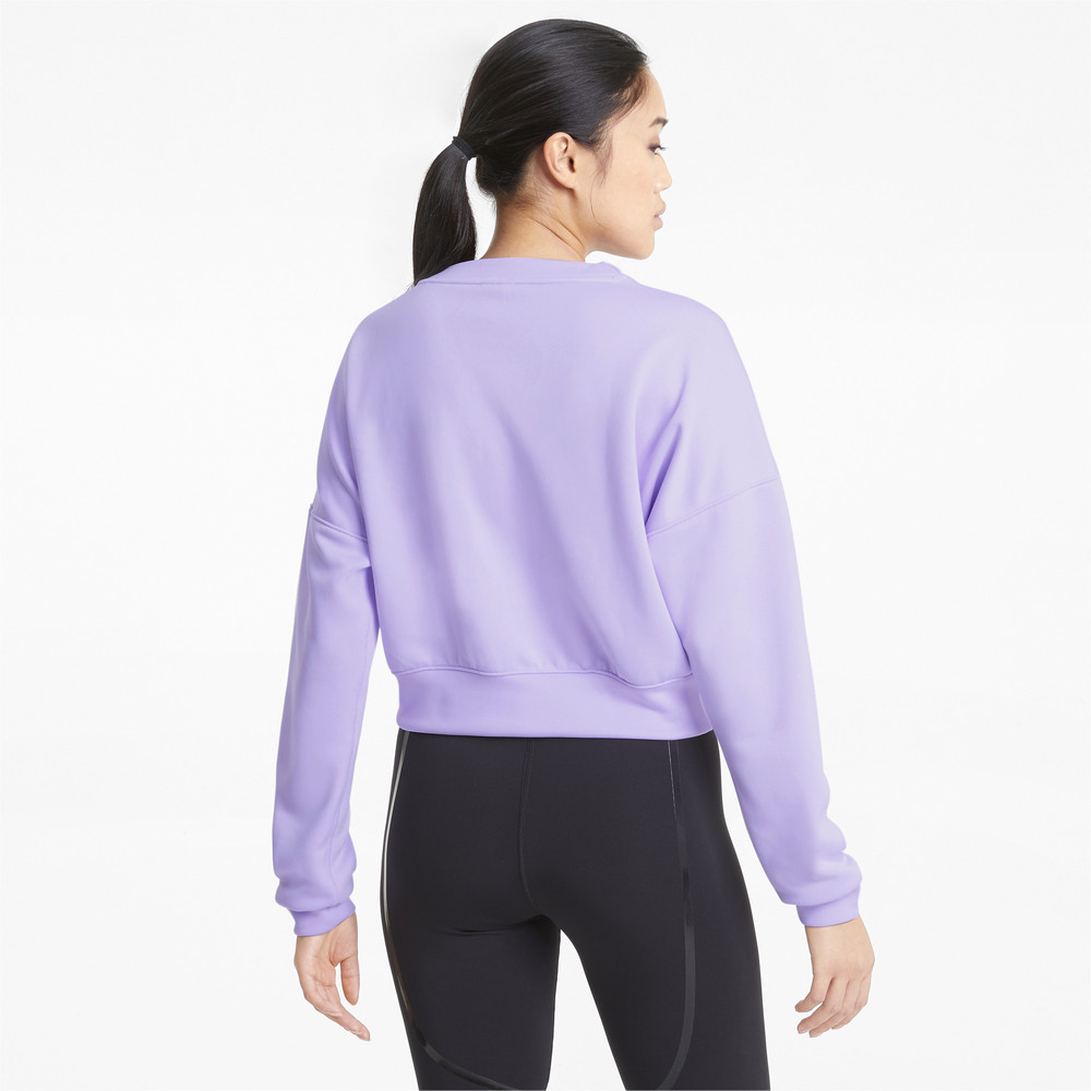 Image PUMA Zip Crew Women's Training Sweatshirt #2