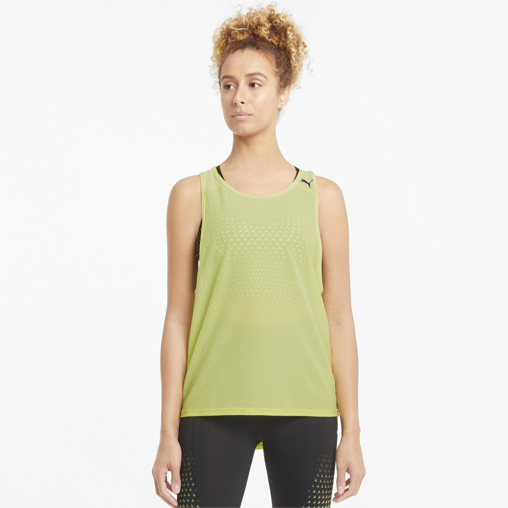 Image PUMA Mesh Women's Training Tank Top #1