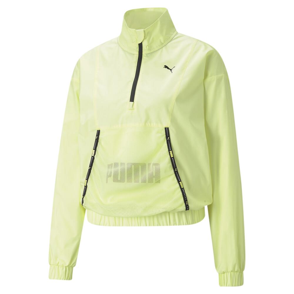 Image PUMA Logo Women's Quarter-Zip Training Pullover #1