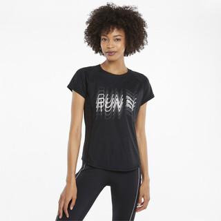 Image PUMA Logo Short Sleeve Women's Running Tee