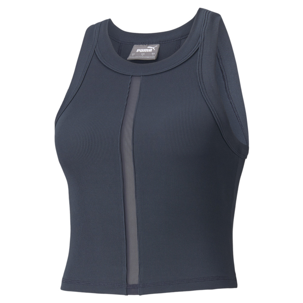 Image PUMA EXHALE Ribbed Women's Training Crop Top #1