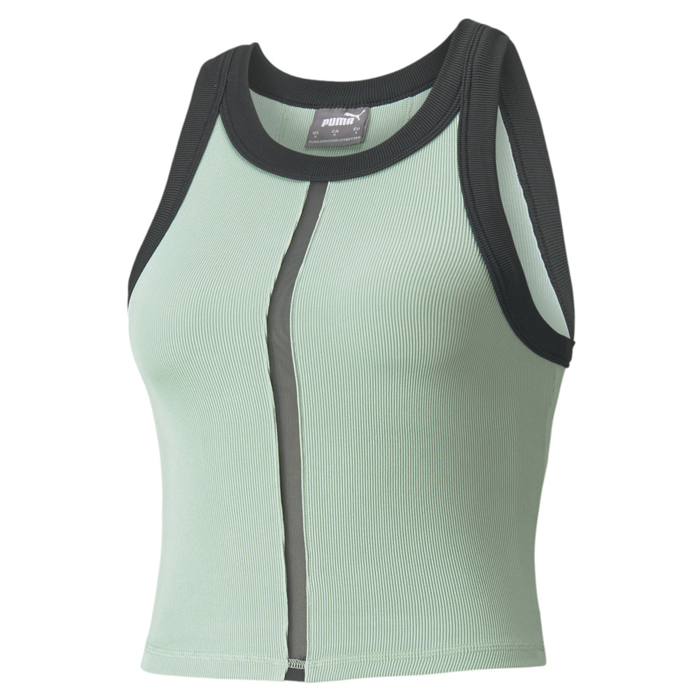 Image PUMA EXHALE Ribbed Women's Training Crop Top #2