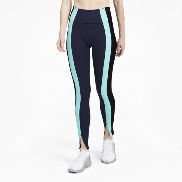 Puma Forever Luxe Women's High Waist Training Leggings In Peacoat/Black, Size Xs
