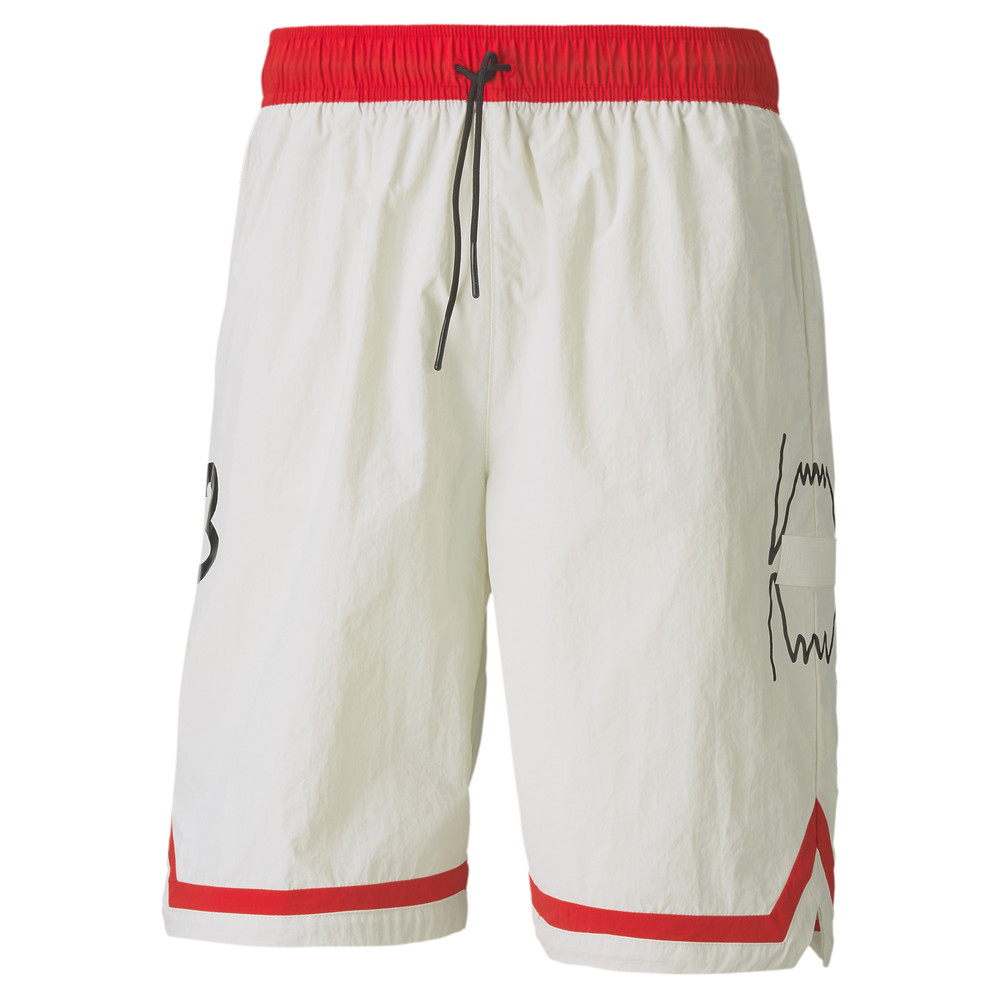 Изображение Puma Шорты Franchise Woven Men's Basketball Shorts #1