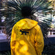 Chaqueta con capucha larga PUMA x MAISON KITSUNÉ, Lemon Chrome, pequeño