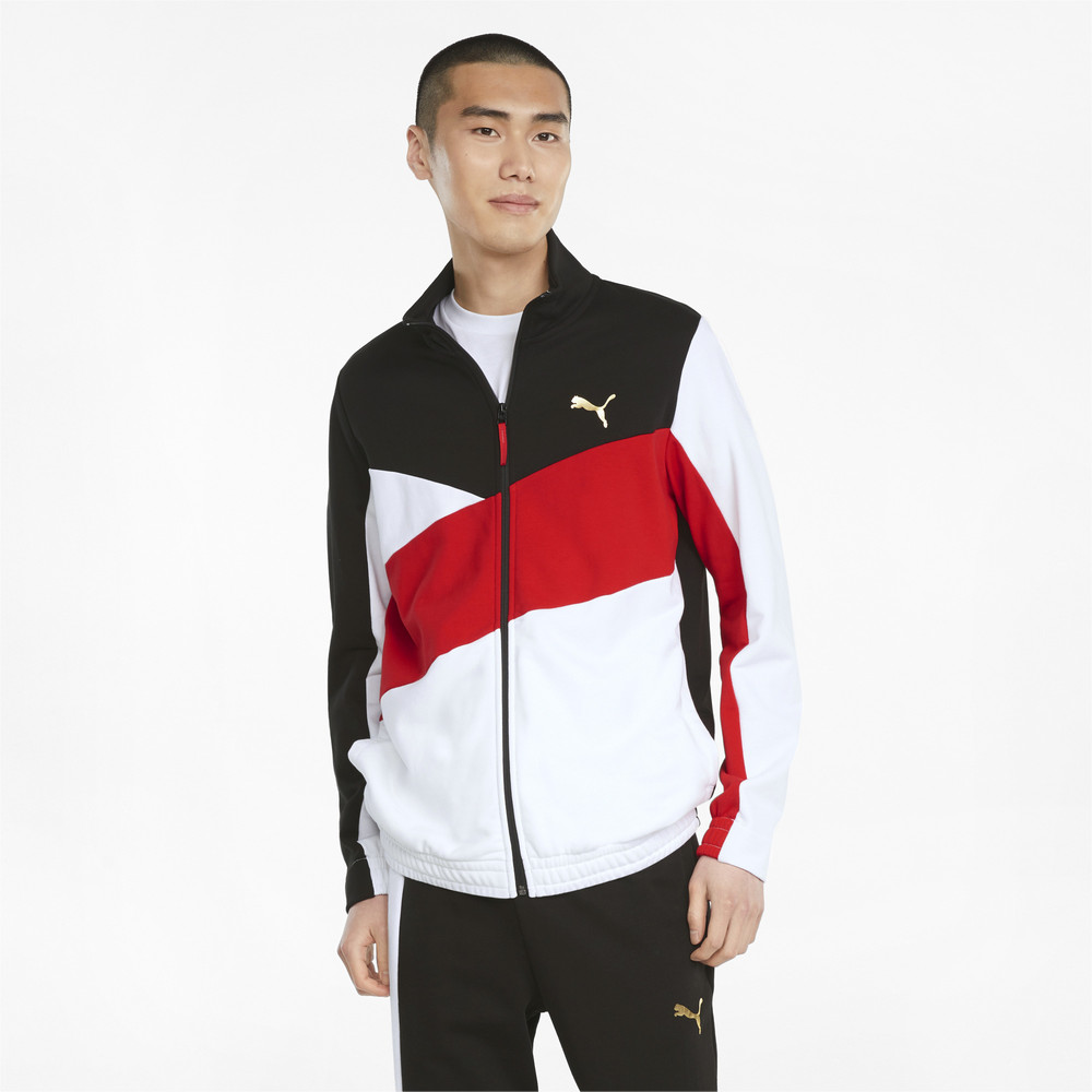 Image PUMA AS French Terry Men's Track Top #1