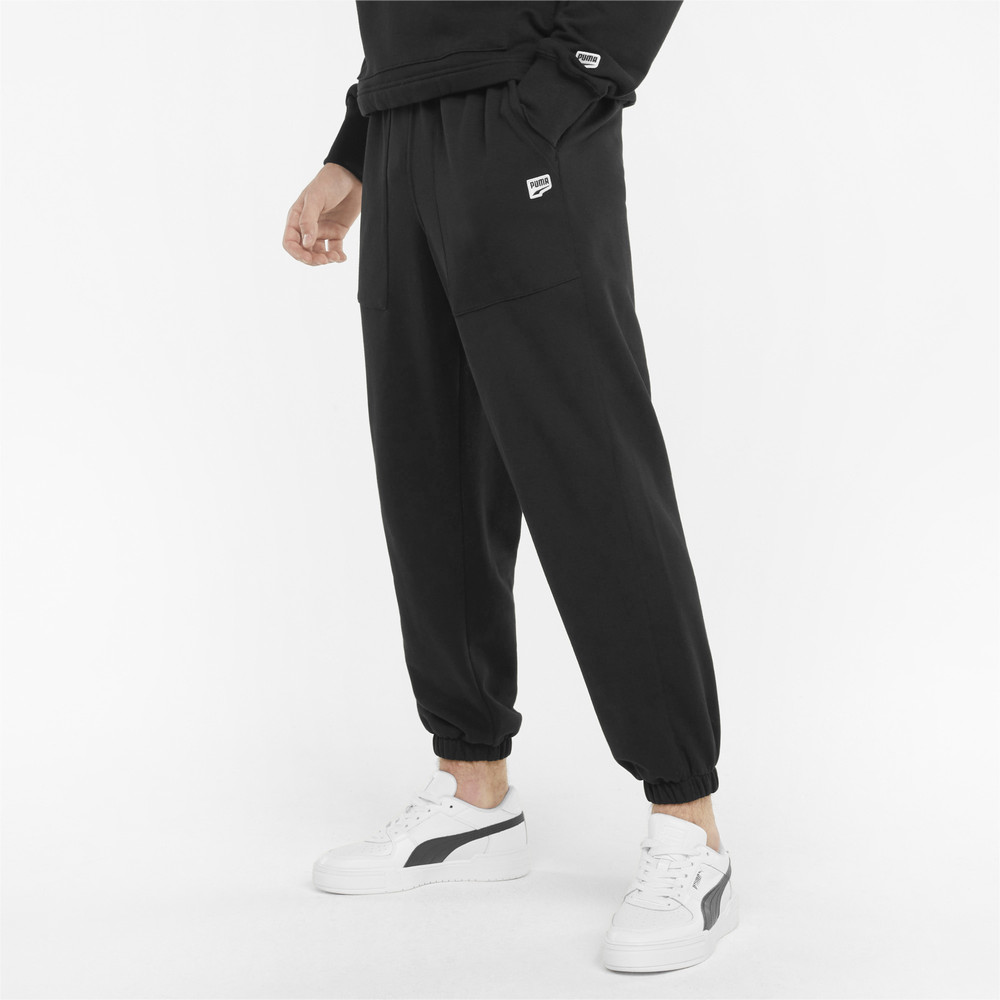 Image PUMA Downtown French Terry Men's Sweatpants #1
