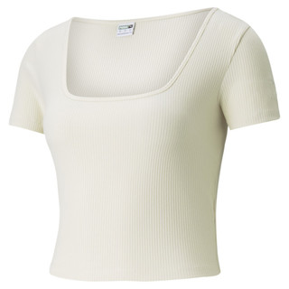 Image PUMA Classics Ribbed Fitted Women's Tee