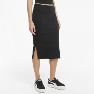 Image PUMA Classics Ribbed Women's Midi Skirt