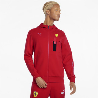 Image PUMA Scuderia Ferrari Race Hooded Men's Sweat Jacket